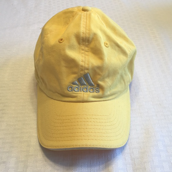 be64fdbe1eea6 adidas Accessories - Yellow Adidas hat